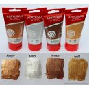 4x75ml Metallic Set Acrylfarben