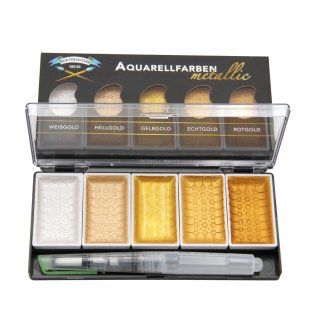 Aquarell Metallic Superior 5er